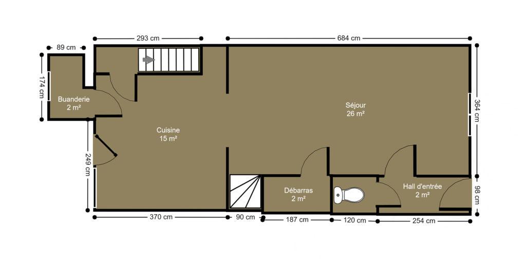un plan 2D permet de vendre plus vite une maison
