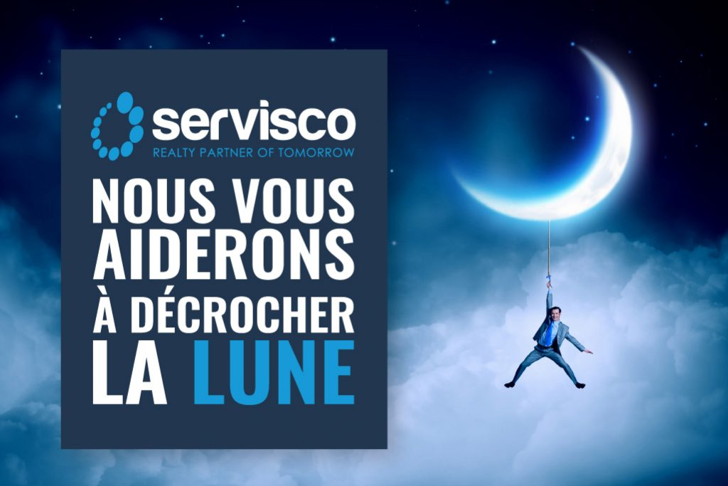 servisco marketing immobilier Belgique